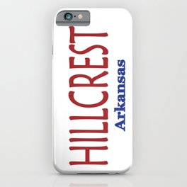 Hillcrest iPhone Case