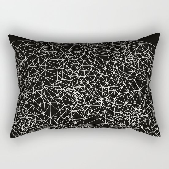 Geo Webbed Rectangular Pillow
