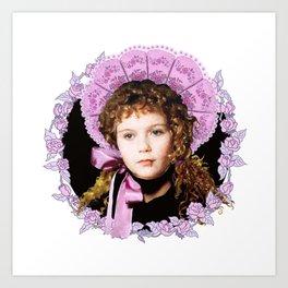 Vampire Child Claudia Art Print