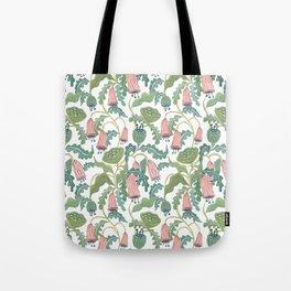 Folk Florals Tote Bag