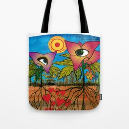 Intra-terrestrial messages Tote Bag