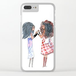 Sisters,familly Clear iPhone Case