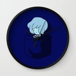 Blue Pearl Pocket Tee Wall Clock