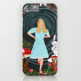 Alice's Adventures in wonderland iPhone Case