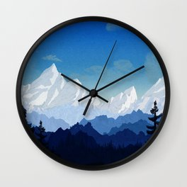 Winter Outlook Wall Clock