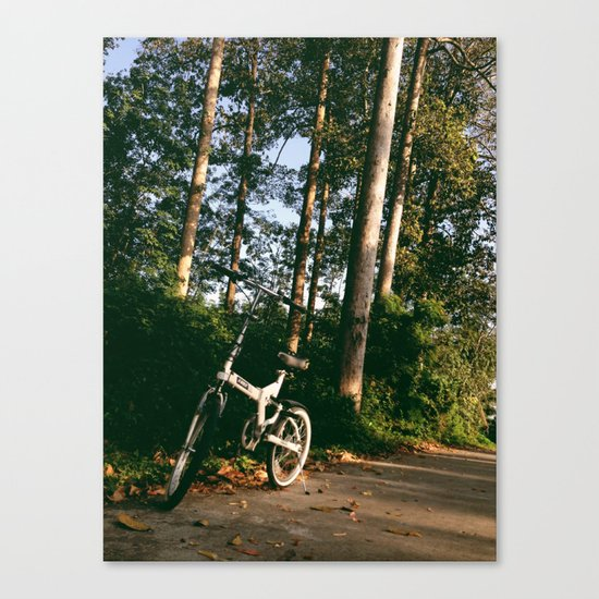 Trail Bike Canvas Print