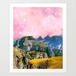 Small World #society6 #decor #buyart Art Print