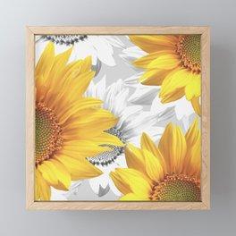 Sunflower Bouquet #decor #society6 #buyart Framed Mini Art Print