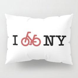 I bike NY Pillow Sham
