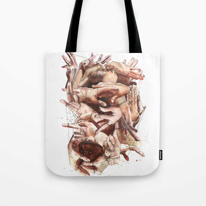 We are bound by a common thread Tote Bag