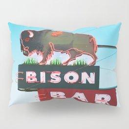 The Bison Bar Pillow Sham