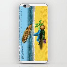"""Beirut"" for ""Destin de carte postale"" by Denis Dubois iPhone Skin"