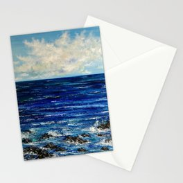 Ocean scenery Stationery Cards