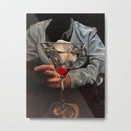 One Chocolate Martini Metal Print