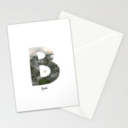 Bucket list destination - Bali Stationery Cards