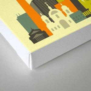 BERLIN SKYLINE Canvas Print