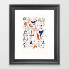 Memory Box Framed Art Print