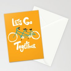 Life's more fun when we're together Stationery Cards