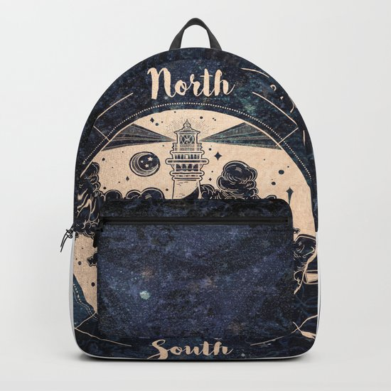 Compass World Star Map Backpack