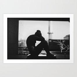 Contemplate Art Print