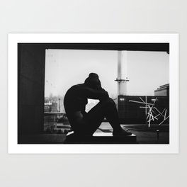 Contemplate Art Print