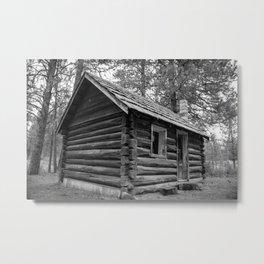 Old Vintage Farm House Metal Print