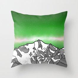Hkakabo Razi Mountain Throw Pillow