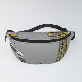 The Power of Tower Crane Fanny Pack