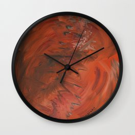 ORANGE BLISS Wall Clock