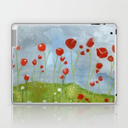 my dreams are only wishes // poppyfields Laptop & iPad Skin