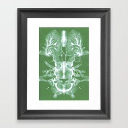 Abstract design. Framed Art Print