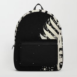 New Zealand SIlver Fern Christmas Tree Backpack