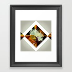 Hypo in a Square Framed Art Print
