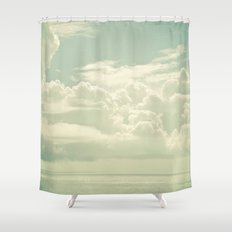 As the Clouds Gathered Shower Curtain
