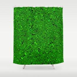 CoriandoliTech 17 Shower Curtain