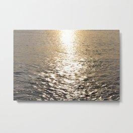 The Calm Sea Metal Print