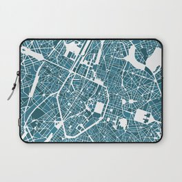 Brussels City Map I Laptop Sleeve