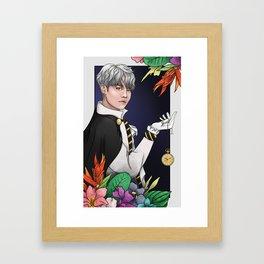 Chan in Wonderland Framed Art Print