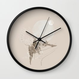 Lunar Thoughts Wall Clock