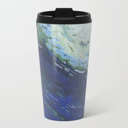 Flexing Ocean Wave Travel Mug