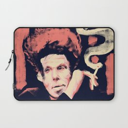 Drunken Piano and Tom - Abstract Portrait Laptop Sleeve
