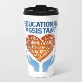 Educational Assistant Travel Mug