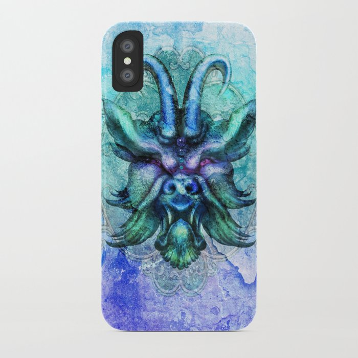 Horned Demon iPhone Case