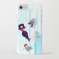 steven universe iPhone & iPod Cases featuring Steven Universe by EclecticMayhem