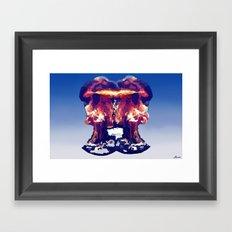 Exploding  Framed Art Print