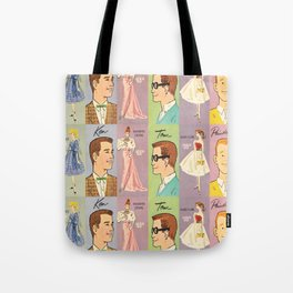 Vintage Queen of the Prom Tote Bag