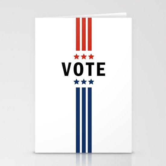 Vote Stationery Cards