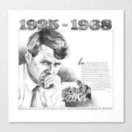 Robert Kennedy 50-Year Anniversary Canvas Print