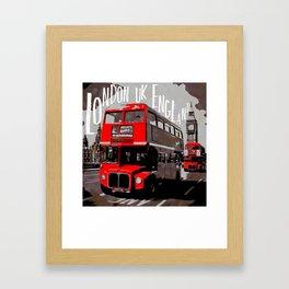 City-Art LONDON Westminster Framed Art Print
