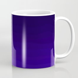 Deep Dark Indigo Ombre Coffee Mug